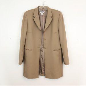 Pendleton tan wool blazer